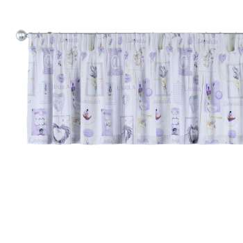 Pencil pleat pelmet 130 x 40 cm (51 x 16 inch) in collection Ashley, fabric: 140-18