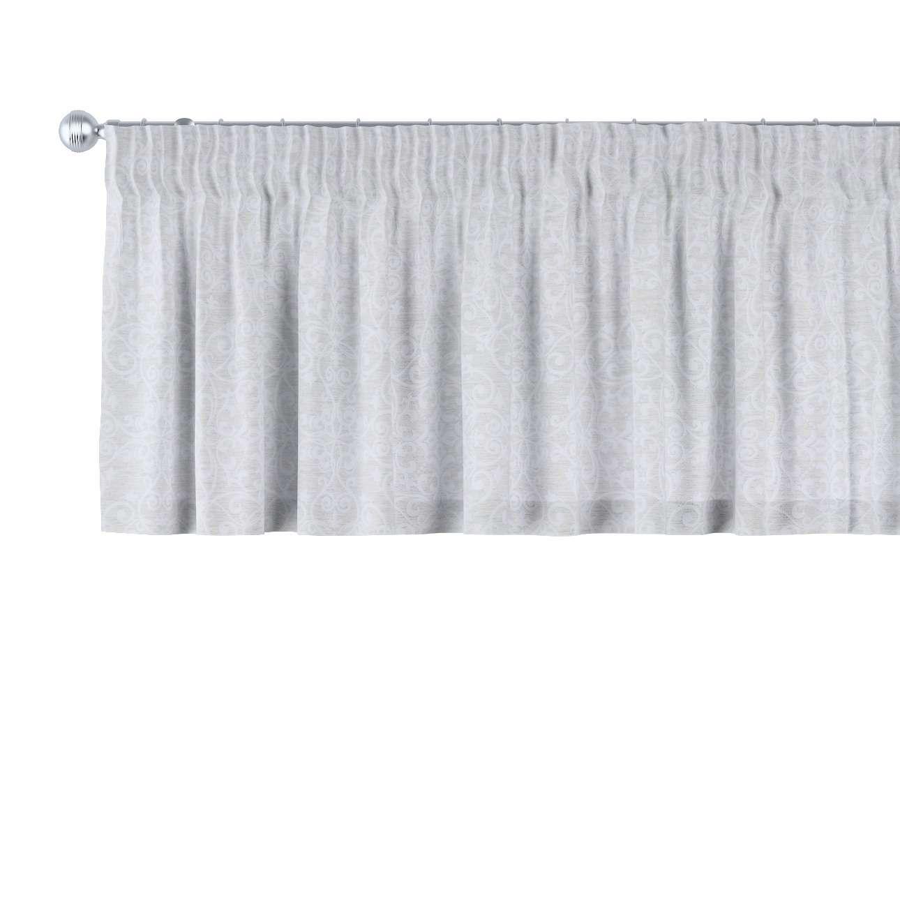 Gardinkappe med rynkebånd 130 x 40 cm fra kolleksjonen Venice, Stoffets bredde: 140-49