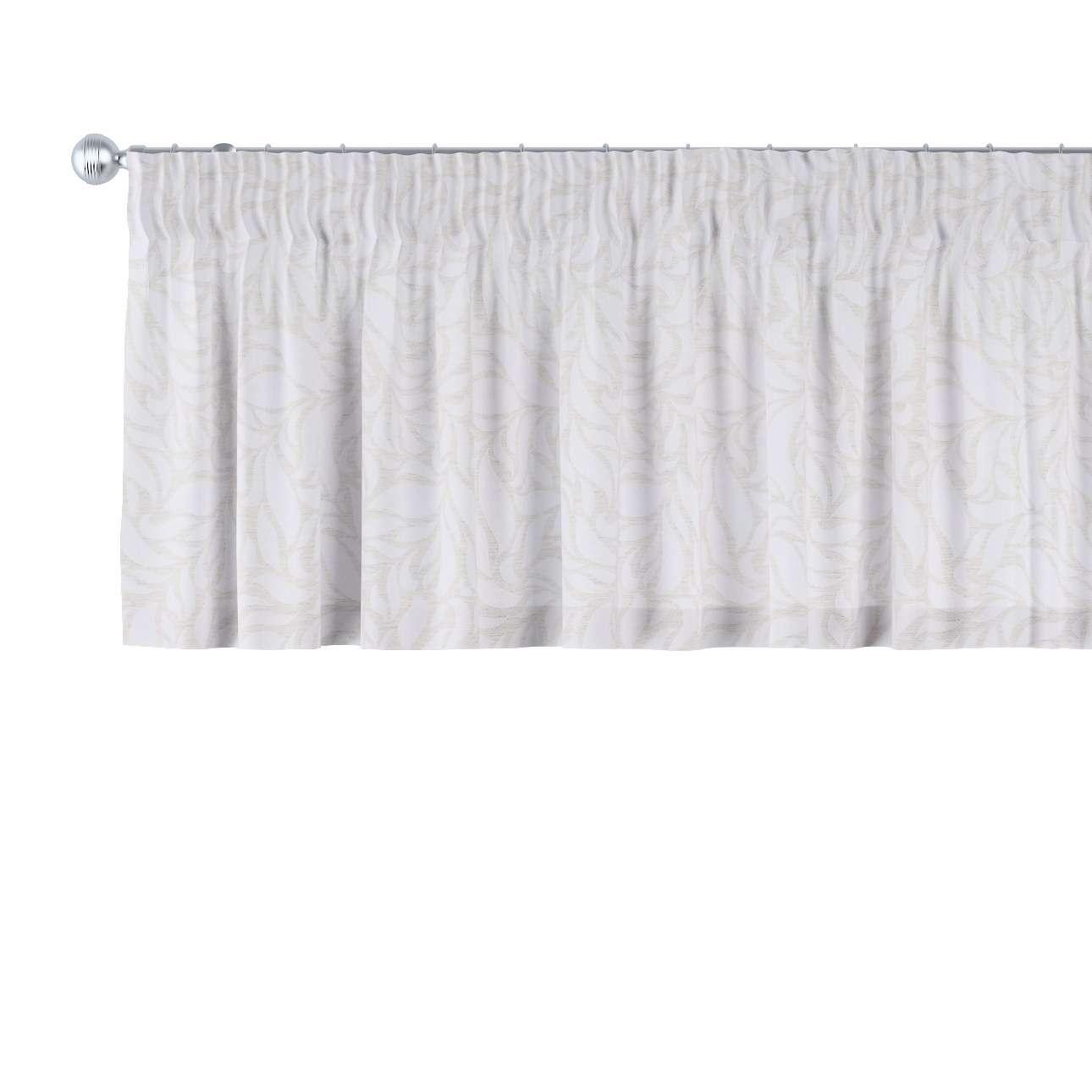 Gardinkappa med rynkband 130 x 40 cm i kollektionen Venice - NYHET, Tyg: 140-50