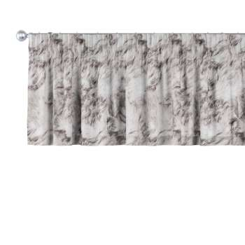 Pencil pleat pelmet 130 x 40 cm (51 x 16 inch) in collection Freestyle, fabric: 140-82