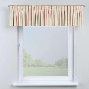 Gardinkappa med rynkband 130 x 40 cm i kollektionen Avinon, Tyg: 129-15