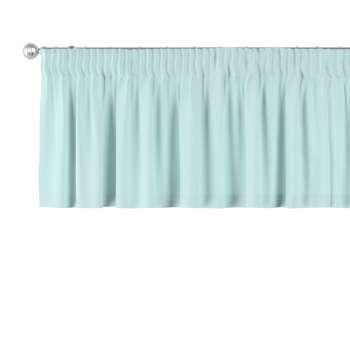 Gardinkappe med rynkebånd fra kollektionen Cotton Panama, Stof: 702-10