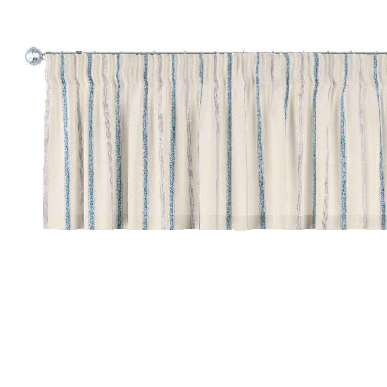 Pencil pleat pelmet in collection Avinon, fabric: 129-66