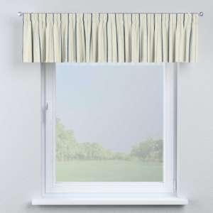 Lambrekin na taśmie marszczącej 130 x 40 cm w kolekcji Avinon, tkanina: 129-66