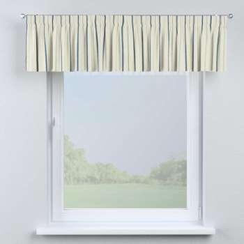 Gardinkappa med rynkband 130 x 40 cm i kollektionen Avinon, Tyg: 129-66