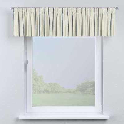 Krátky záves na riasiacej páske V kolekcii Avinon, tkanina: 129-66