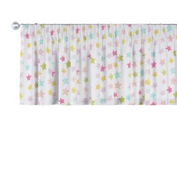 Pencil pleat pelmet 130 x 40 cm (51 x 16 inch) in collection Little World, fabric: 141-52