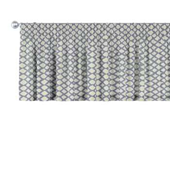 Pencil pleat pelmet 130 x 40 cm (51 x 16 inch) in collection Comic Book & Geo Prints, fabric: 141-21