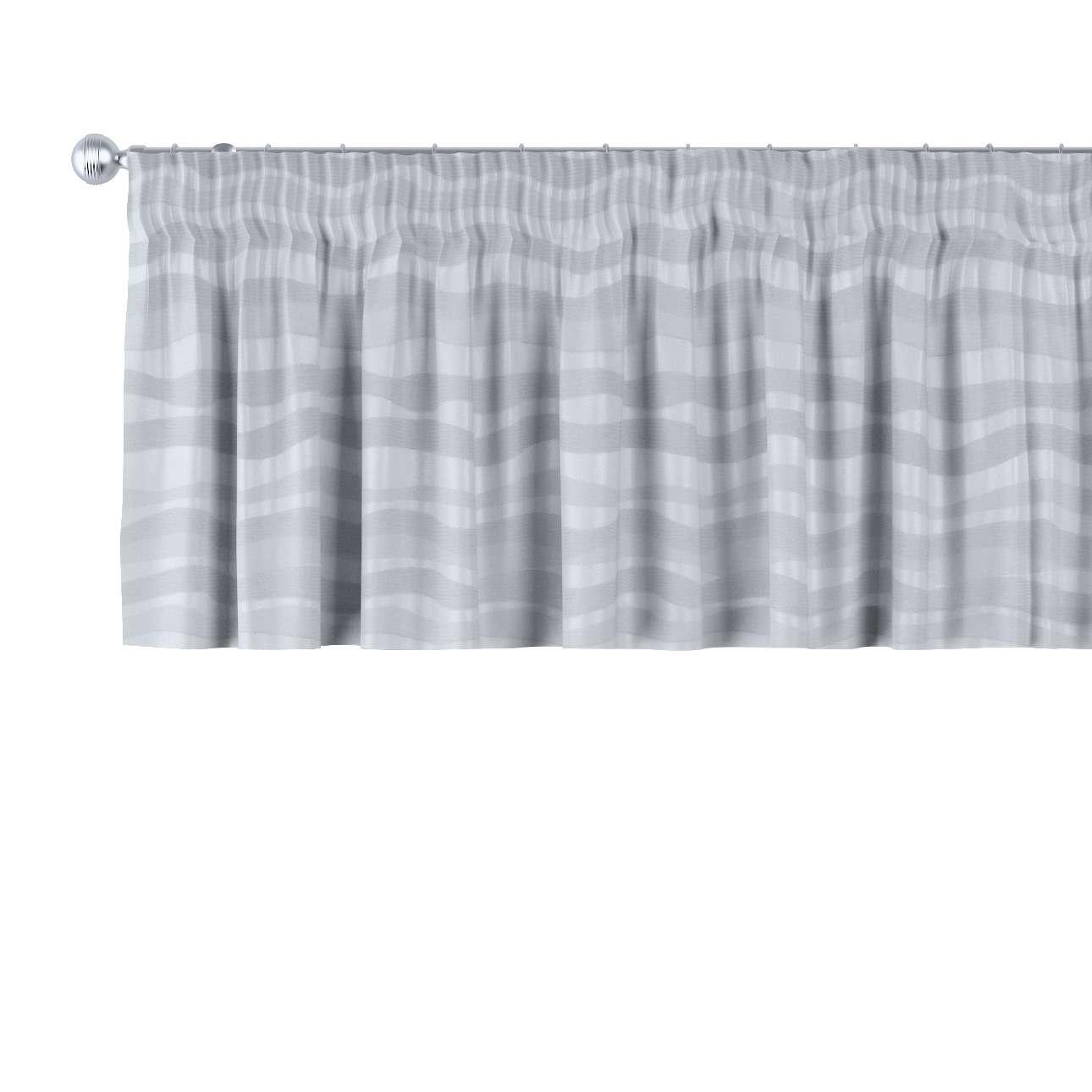 Gardinkappe med rynkebånd 130 × 40 cm fra kollektionen Damasco, Stof: 141-72