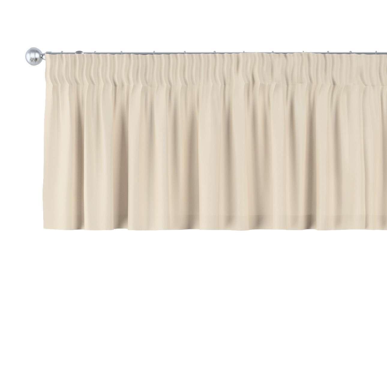 Gardinkappe med rynkebånd 130 × 40 cm fra kollektionen Damasco, Stof: 141-73