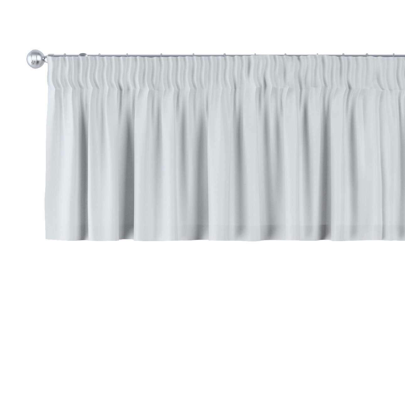 Krátky záves na riasiacej páske V kolekcii Damasco, tkanina: 141-77