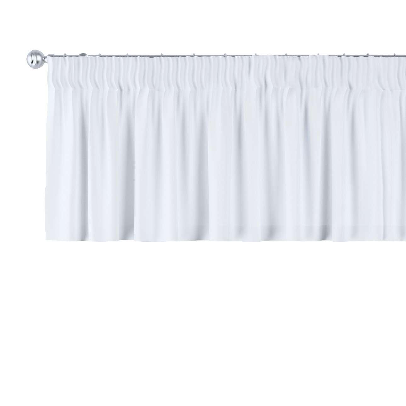 Krátky záves na riasiacej páske V kolekcii Damasco, tkanina: 141-78
