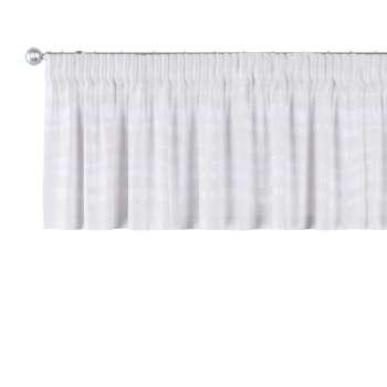 Gardinkappa med rynkband 130 × 40 cm i kollektionen Damasco, Tyg: 141-87