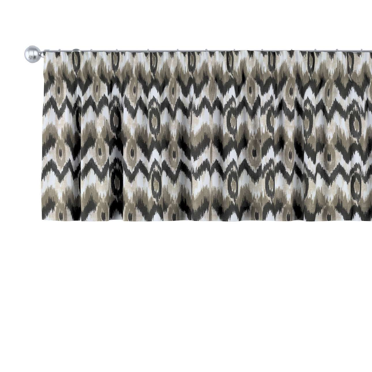 Gardinkappe med rynkebånd fra kolleksjonen Modern, Stoffets bredde: 141-88