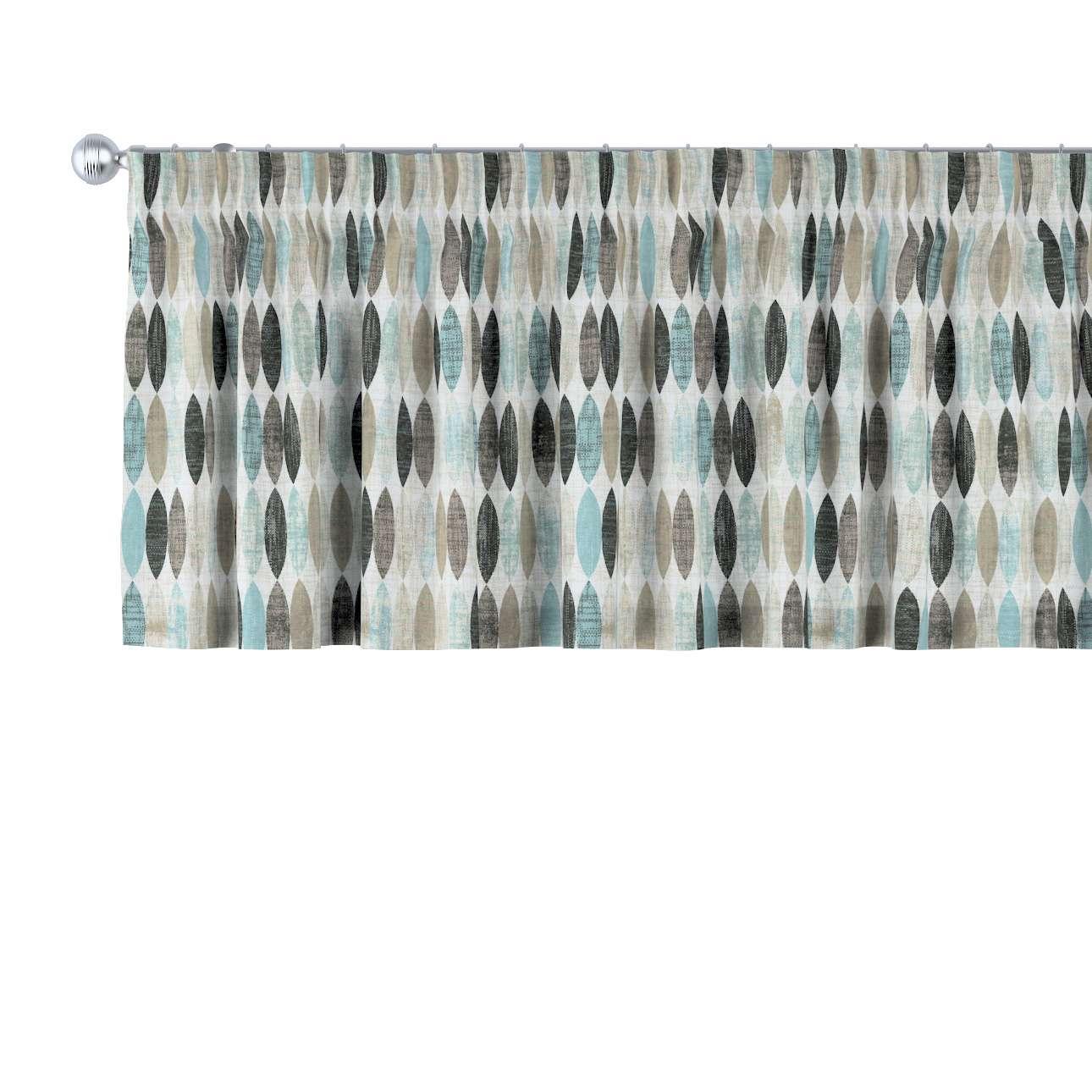Krátky záves na riasiacej páske V kolekcii Modern, tkanina: 141-91