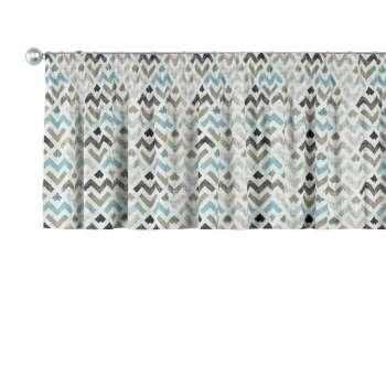 Gardinkappa med rynkband i kollektionen Modern, Tyg: 141-93