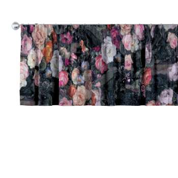 Lambrekin na taśmie marszczącej w kolekcji Gardenia, tkanina: 161-02