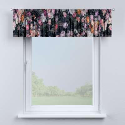 Krátky záves na riasiacej páske V kolekcii Gardenia, tkanina: 161-02