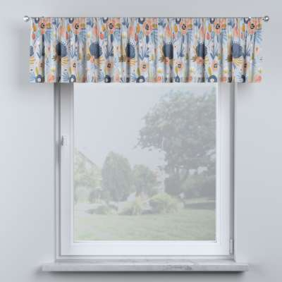 Lambrequin with gathering tape in collection Magic Collection, fabric: 500-05