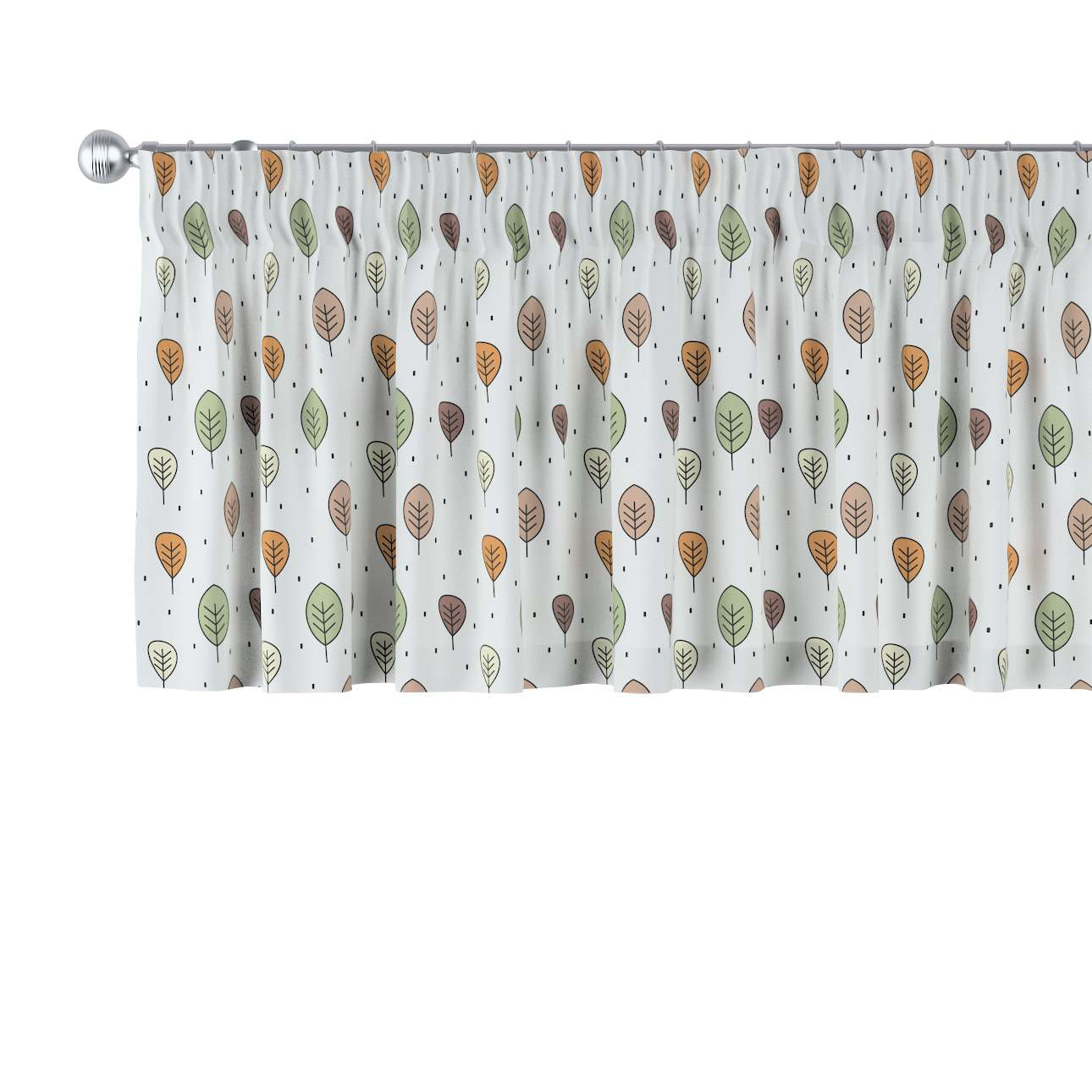 Lambrequin with gathering tape in collection Magic Collection, fabric: 500-09