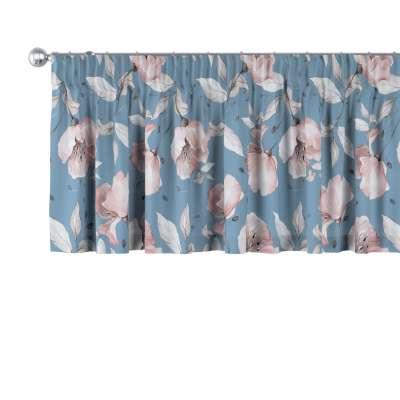 Schabracke mit Kräuselband 500-18 blau Kollektion Magic Collection