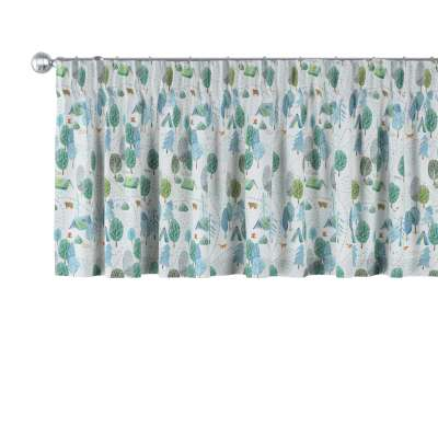 Lambrequin with gathering tape in collection Magic Collection, fabric: 500-21