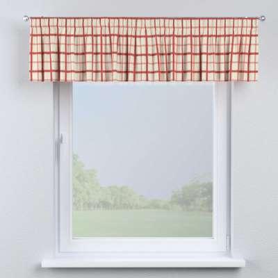 Lambrekin na taśmie marszczącej w kolekcji Avinon, tkanina: 131-15