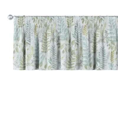 Kurzgardine mit Kräuselband von der Kollektion Pastel Forest, Stoff: 142-46