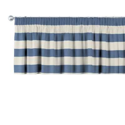 Krátky záves na riasiacej páske V kolekcii Quadro, tkanina: 142-70