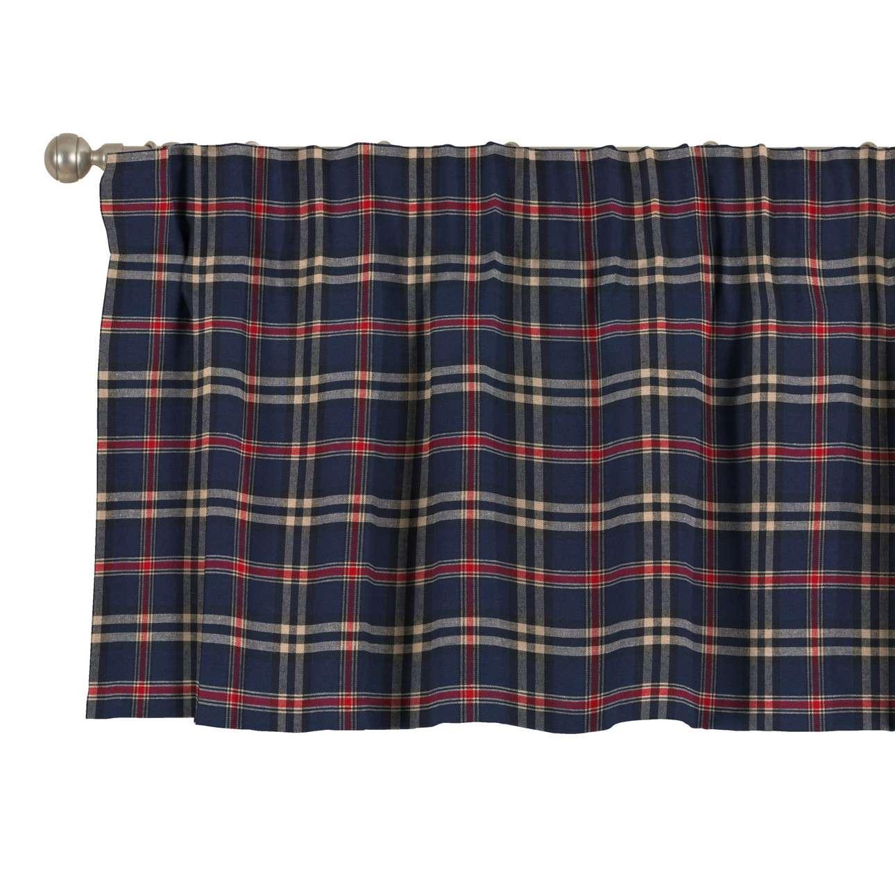 Krátky záves na riasiacej páske V kolekcii Bristol, tkanina: 142-68