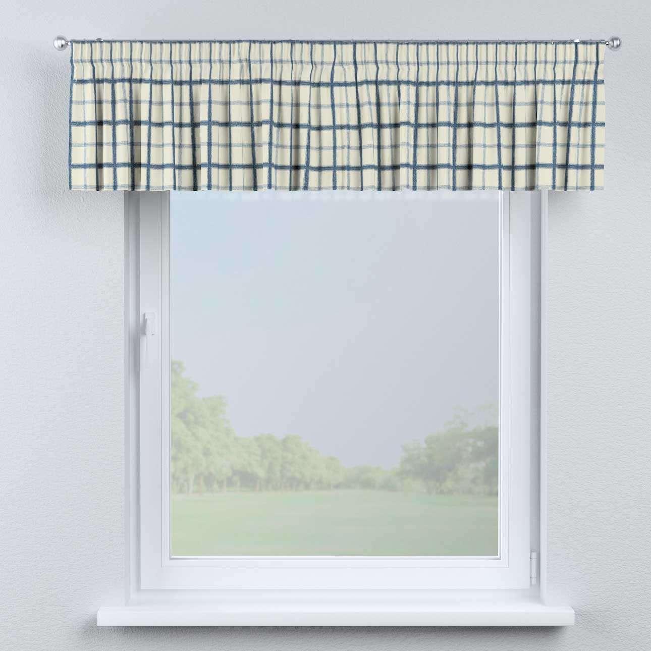 Lambrekin na taśmie marszczącej 130 x 40 cm w kolekcji Avinon, tkanina: 131-66