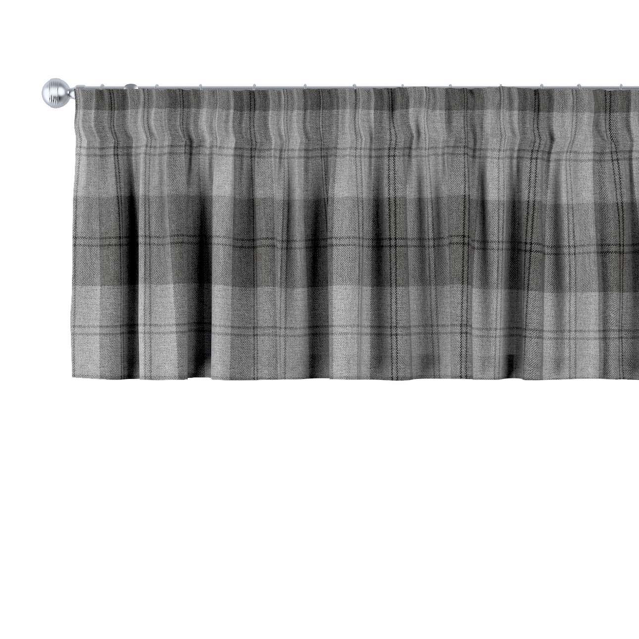 Krátky záves na riasiacej páske V kolekcii Edinburg, tkanina: 115-75