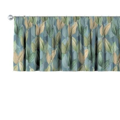 Krátky záves na riasiacej páske V kolekcii Abigail, tkanina: 143-20