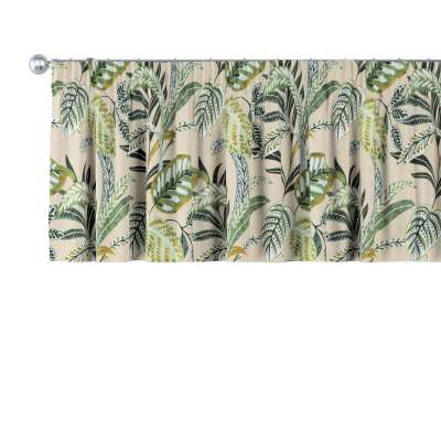 Kort gordijn van de collectie Tropical Island, Stof: 142-96