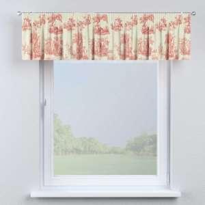 Lambrekin na taśmie marszczącej 130 x 40 cm w kolekcji Avinon, tkanina: 132-15