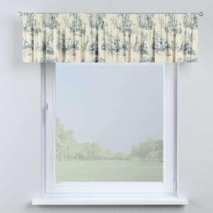 Gardinkappa med rynkband 130 x 40 cm i kollektionen Avinon, Tyg: 132-66