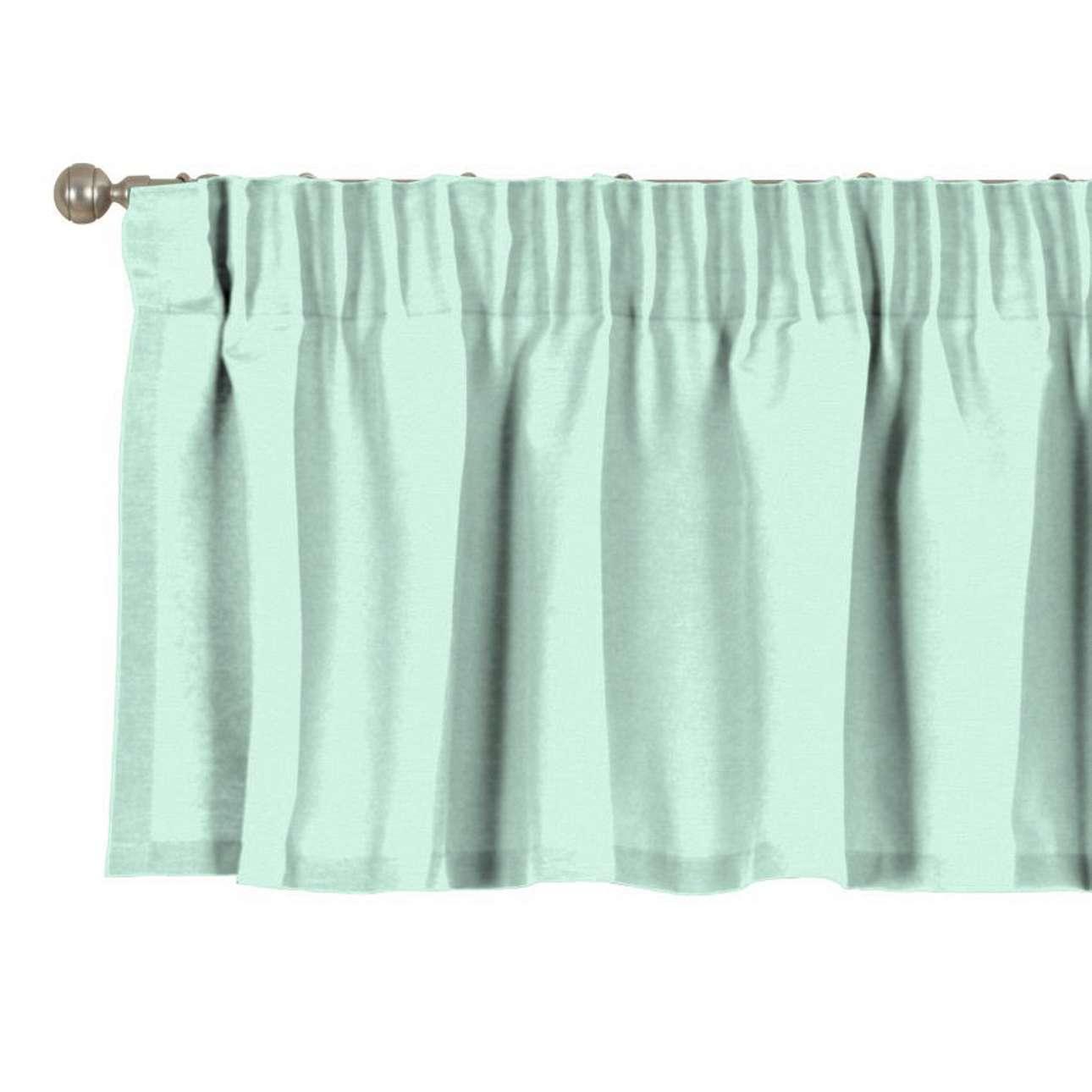 Krátky záves na riasiacej páske V kolekcii Loneta, tkanina: 133-37