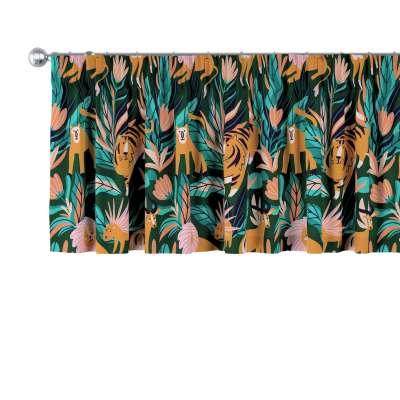 Záclonka na řasící pásce 500-42 zielony Kolekce Magic Collection