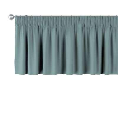 Schabracke mit Kräuselband 702-40 eukalyptus grün Kollektion Cotton Story