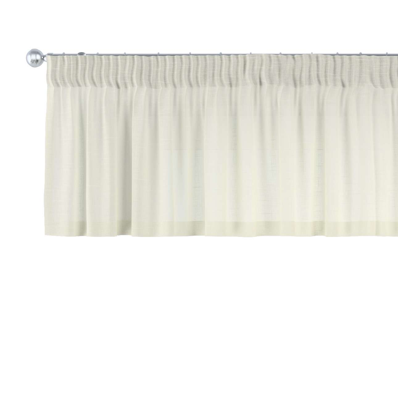 Lambrekin na taśmie marszczącej 130 x 40 cm w kolekcji Romantica, tkanina: 128-88