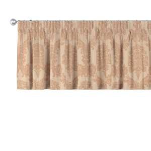 Gardinkappa med rynkband 130 x 40 cm i kollektionen Damasco, Tyg: 613-04
