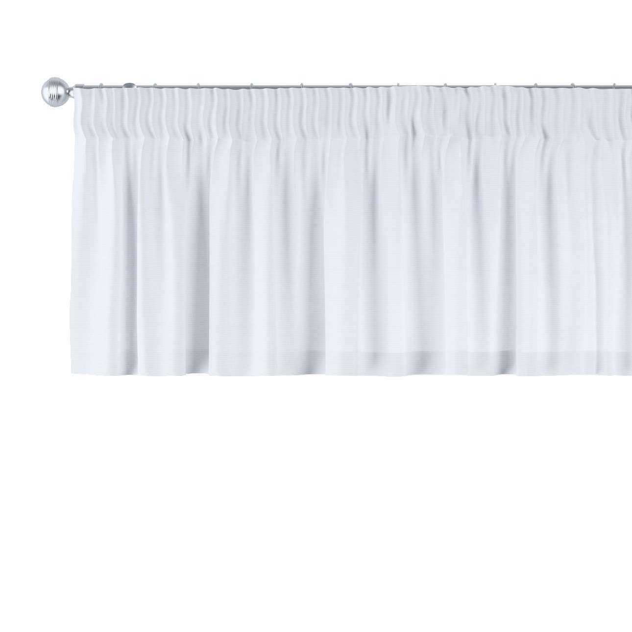 Gardinkappa med rynkband 130 x 40 cm i kollektionen Jupiter, Tyg: 127-01