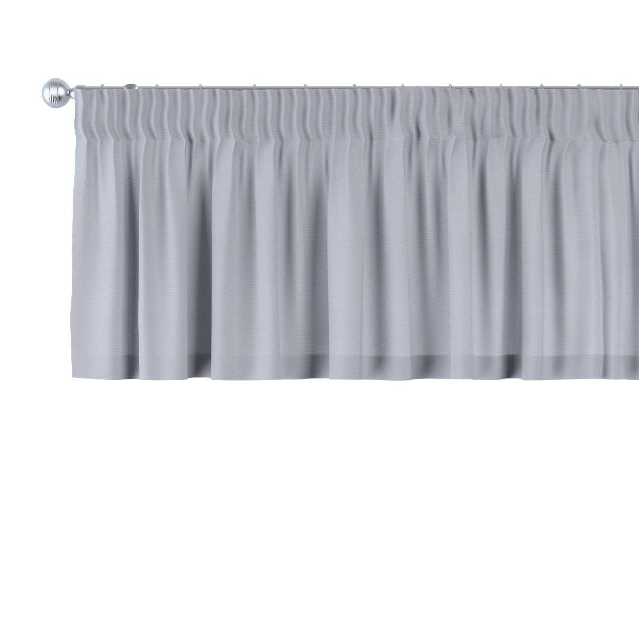 Gardinkappa med rynkband 130 × 40 cm i kollektionen Jupiter, Tyg: 127-92