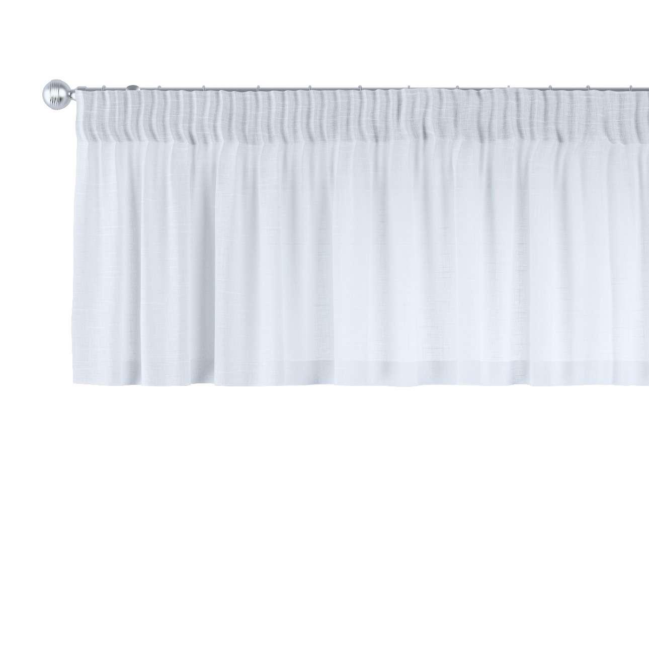 Gardinkappa med rynkband 130 x 40 cm i kollektionen Romantica, Tyg: 128-77