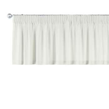 Gardinkappa med rynkband 130 x 40 cm i kollektionen Jupiter, Tyg: 127-00