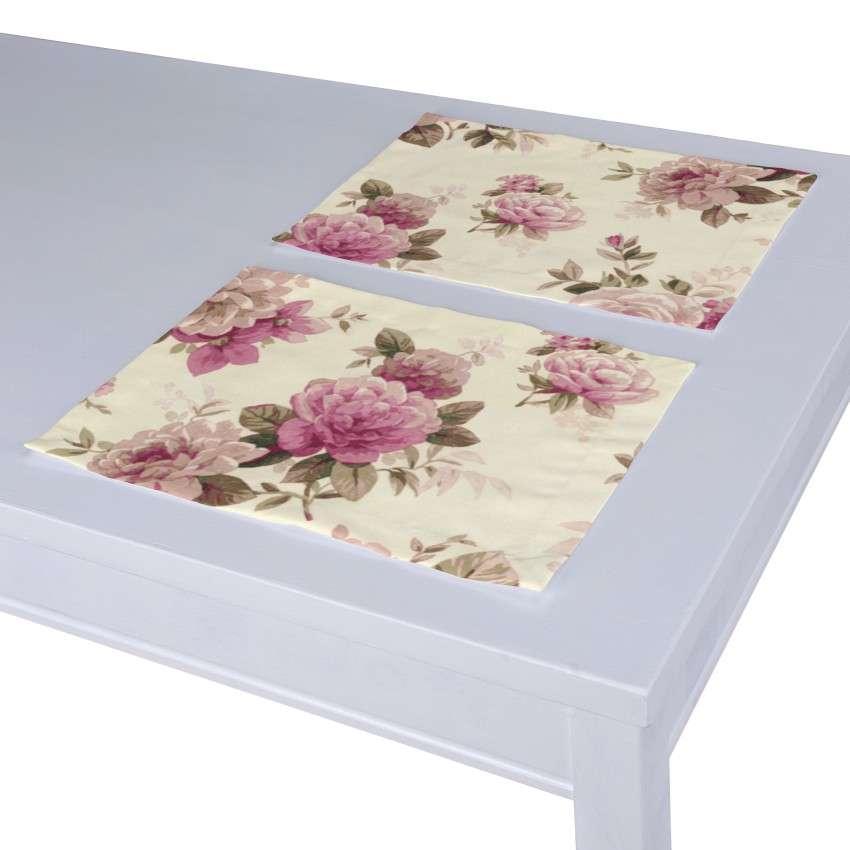 Stalo servetėlės/stalo padėkliukai – 2 vnt. 30 x 40 cm kolekcijoje Mirella, audinys: 141-07