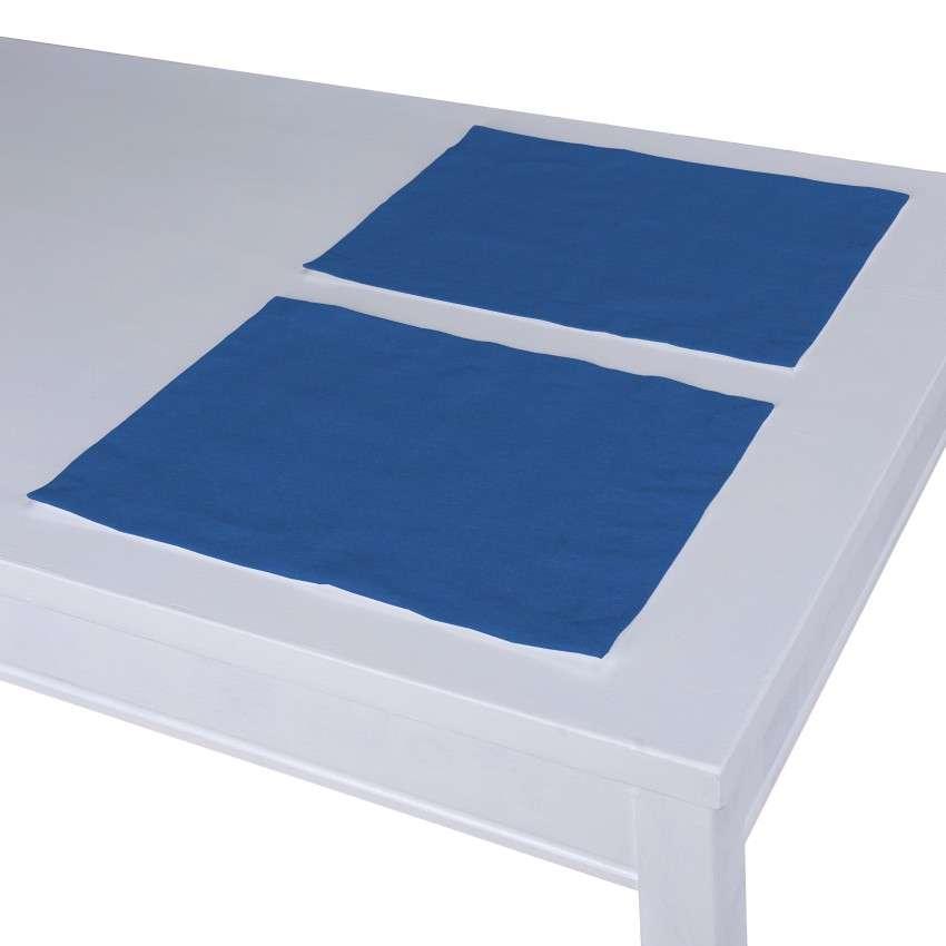 Stalo servetėlės/stalo padėkliukai – 2 vnt. 30 × 40 cm kolekcijoje Jupiter, audinys: 127-61