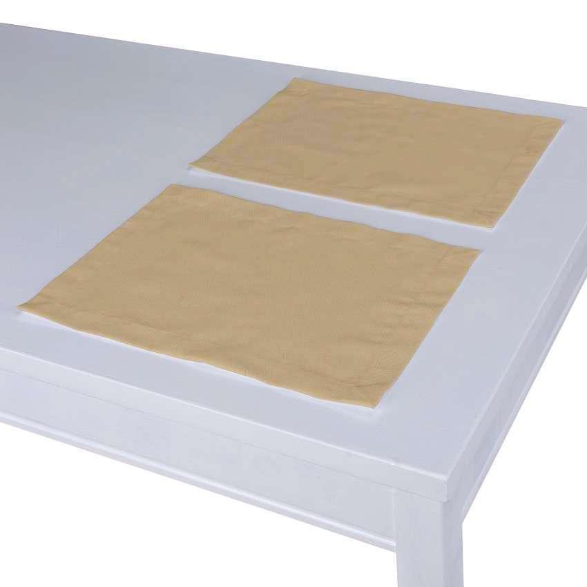 Podkładka 2 sztuki 30x40 cm w kolekcji Cotton Panama, tkanina: 702-01