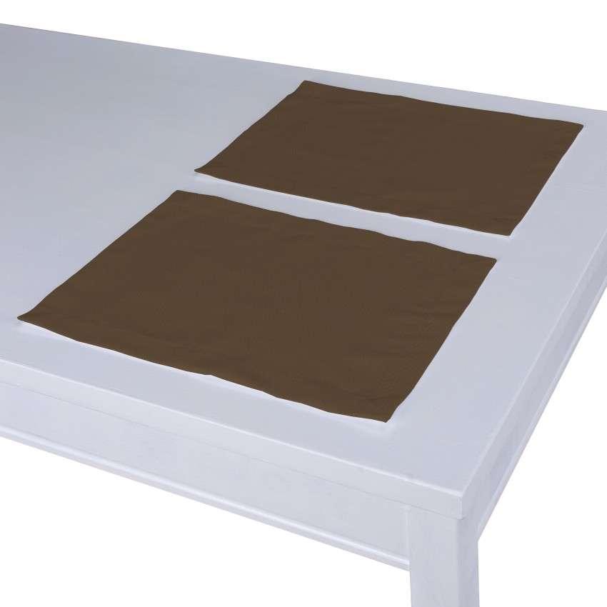 Podkładka 2 sztuki 30x40 cm w kolekcji Cotton Panama, tkanina: 702-02