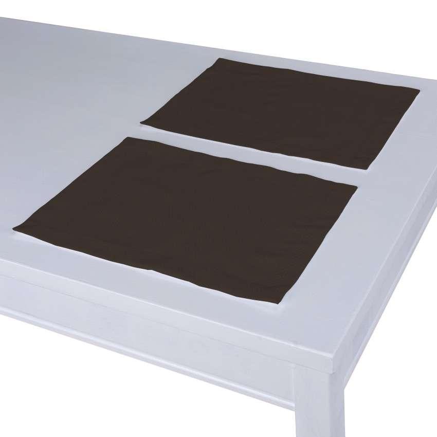 Podkładka 2 sztuki 30x40 cm w kolekcji Cotton Panama, tkanina: 702-03